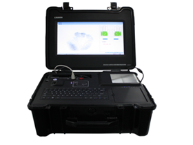 Portable Multi-biometric Application System
